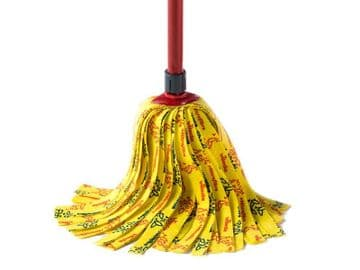 SuperMocio Soft Mop Head & Handle